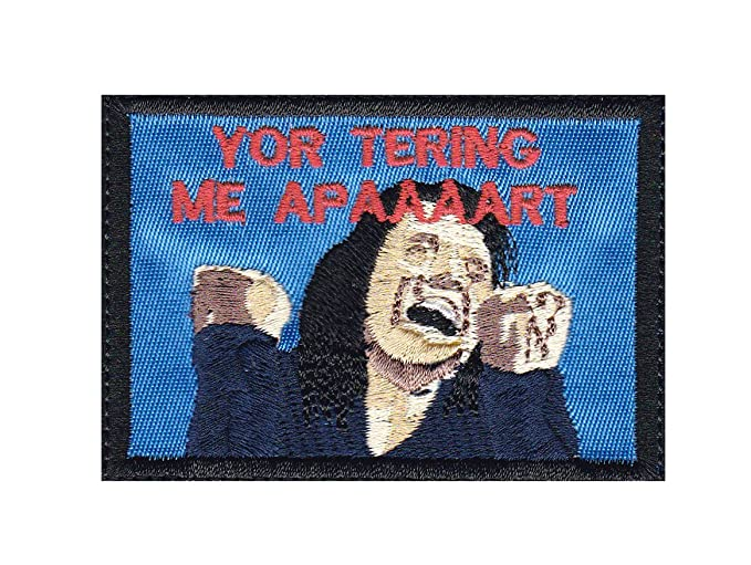 amazon com room tearing me apart tommy wiseau inspired art iron on