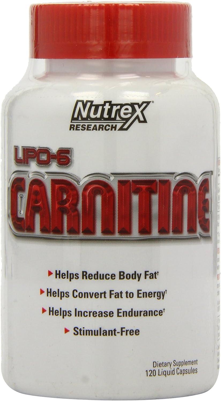 Nutrex Lipo 6 Carnitine, Liquid Capsules, 120 Count: Health & Personal Care
