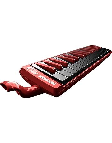 HOHNER 32F - Melódica, color rojo