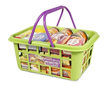 27534e75e1ce Casdon 628 Shopping Basket,Green: Casdon: Amazon.co.uk: Toys & Games