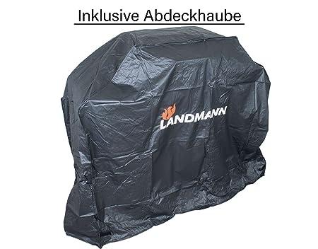 Landmann Gasgrill Abdeckhaube : Gasgrillwagen landmann lavastein gasgrill mit seitenbrenner
