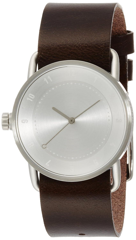 [ティッド ウォッチ]TID watches デザイナーズウォッチ レザー 引き通し TID02-36SV/W 【正規輸入品】 B01AWB9UTI