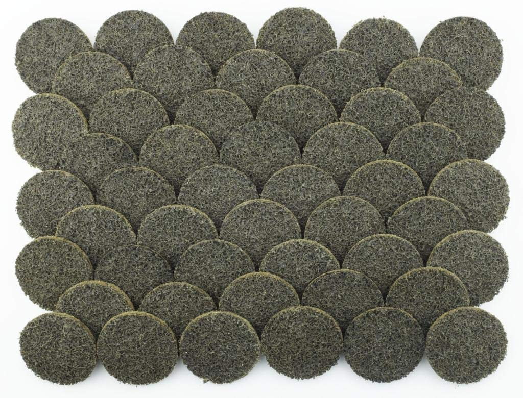 Pro Select Abrasives 50 pc Extra Thick 2'' Coarse Roloc Surface Conditioning Disc, Lasts 3X Longer Than Other Name Brands, Amazing Surface Finishing