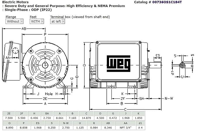 Weg 7 5 Hp Single Phase Motor Wiring Diagram Wiring Diagram Experts