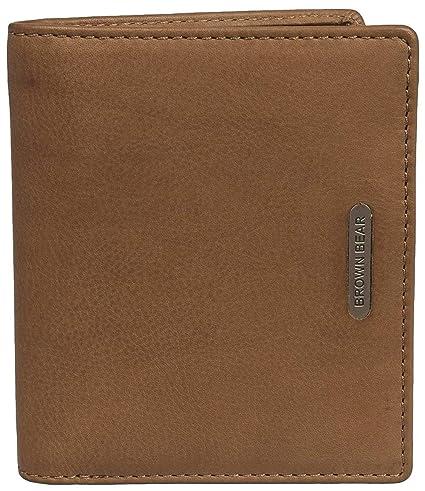 Brown Bear, funda de piel para tarjetas de crédito Vintage ...