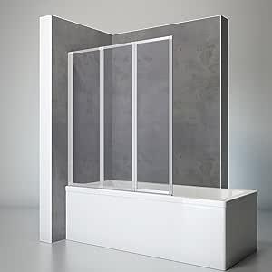 Schulte 4061164998202 ducha pared Well, 127 x 140 cm, 3 piezas ...