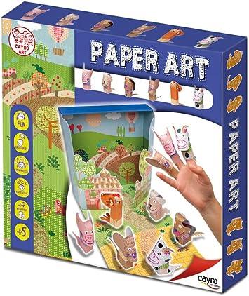 Cayro - Paper Art: Animales (827): Amazon.es: Juguetes y juegos