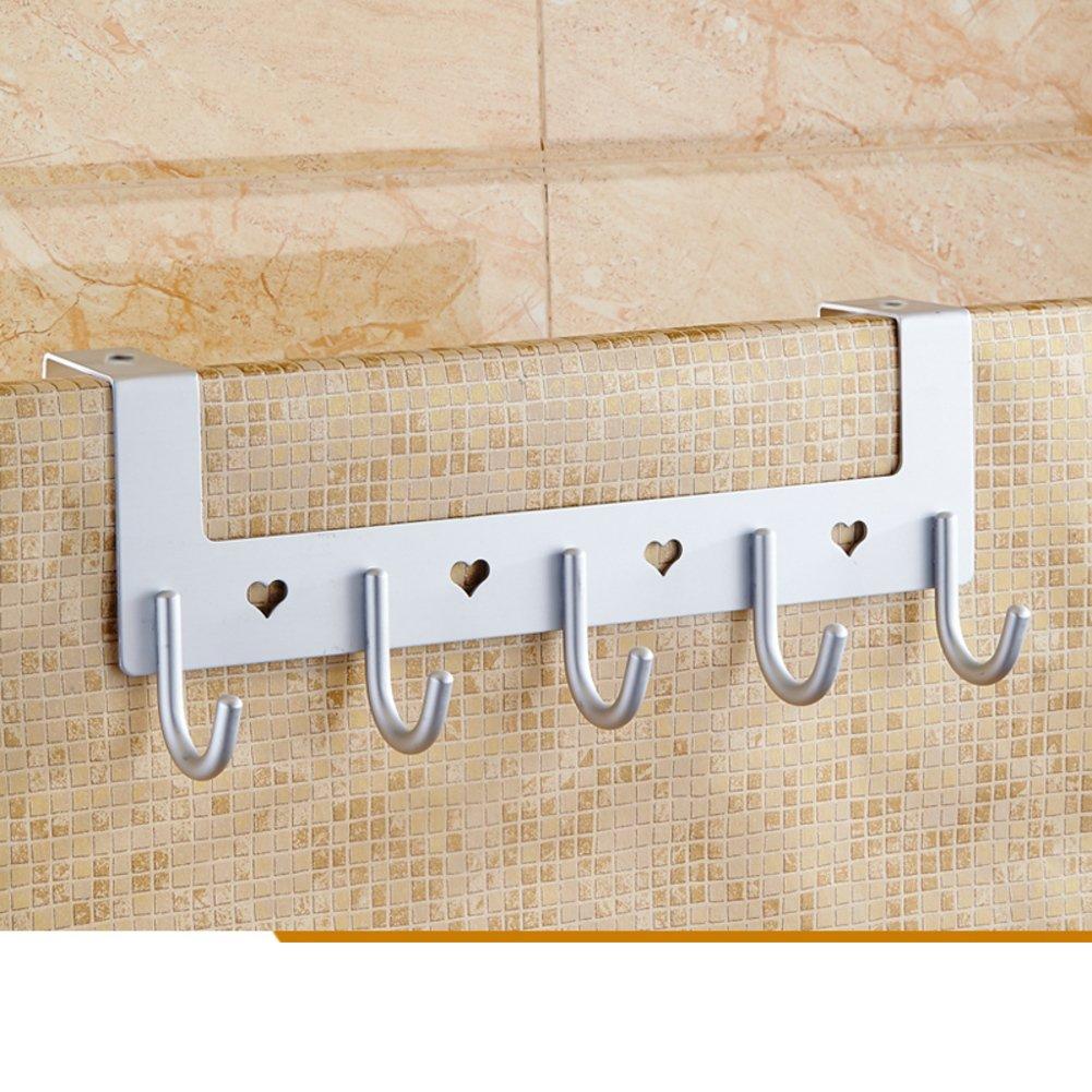 durable modeling door-back hook/Perforated hook-free/coat and hat hook /row hook/ Space aluminum hook-A