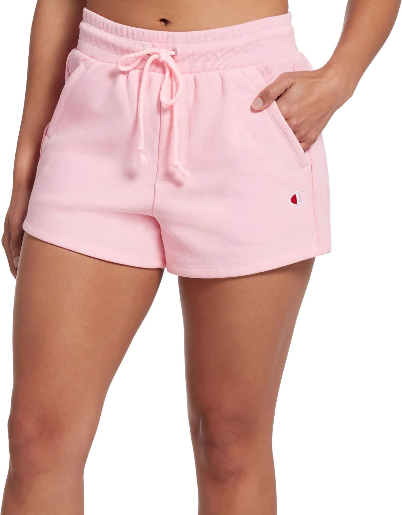 Champion LIFE Women's Reverse Weave Shorts (C Logo/Pink Candy, XX-Large) by Champion LIFE