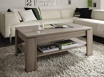 Dreams4Home Couchtisch U0027 Poemu0027 Wohnzimmer Wohnzimmermöbel Sofatisch  Beistelltisch In Verschiedenen Farbausführungen Holznachbildung, Farbe: