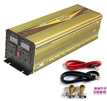 2500 W/pico de 5000 W dc12 V-ac240 V onda sinusoidal pura inversor