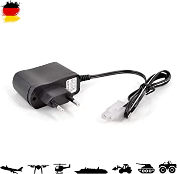 7.2 V Chargeur universel avec prise Tamiya, alimentation pour différents RC ferngesteuerte Bateaux, tablier et véhicules, NEUF