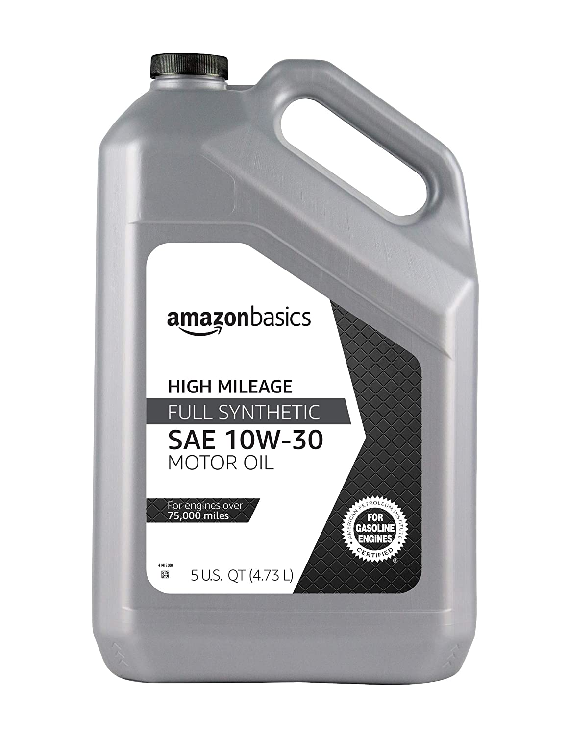 AmazonBasics High-Mileage Motor Oil}