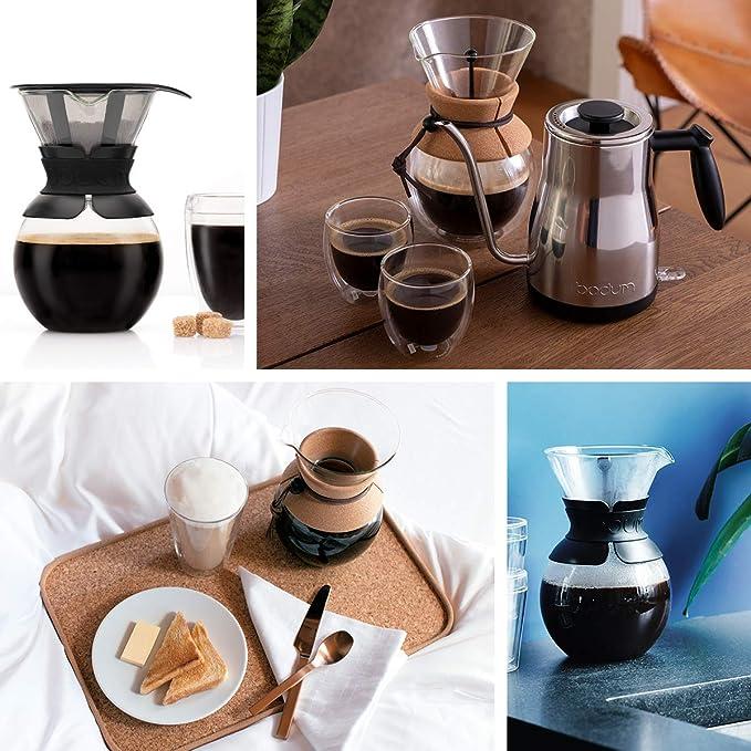 Bodum - 11571-294S - Pour Over - Cafetera de Goteo con Filtro ...
