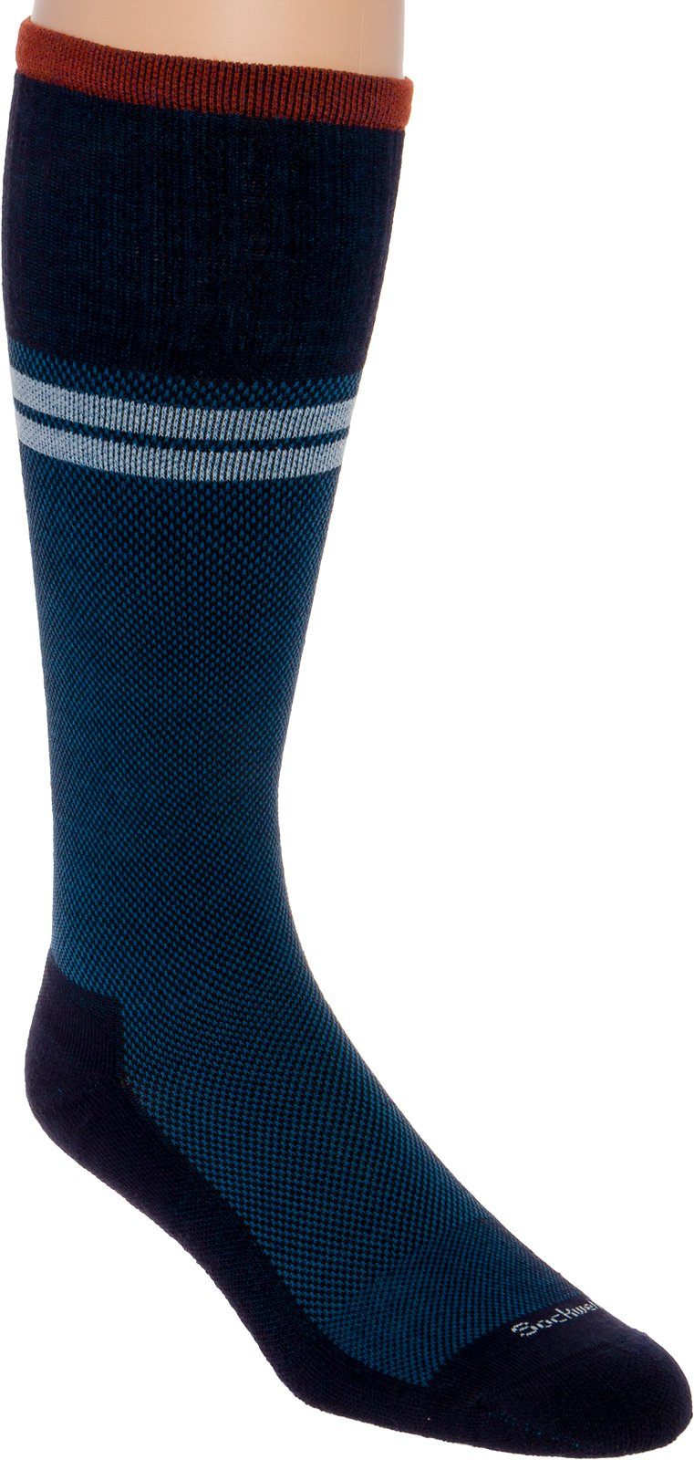 Sockwell Men's Sportster Moderate Compression Socks (Navy, M/L)