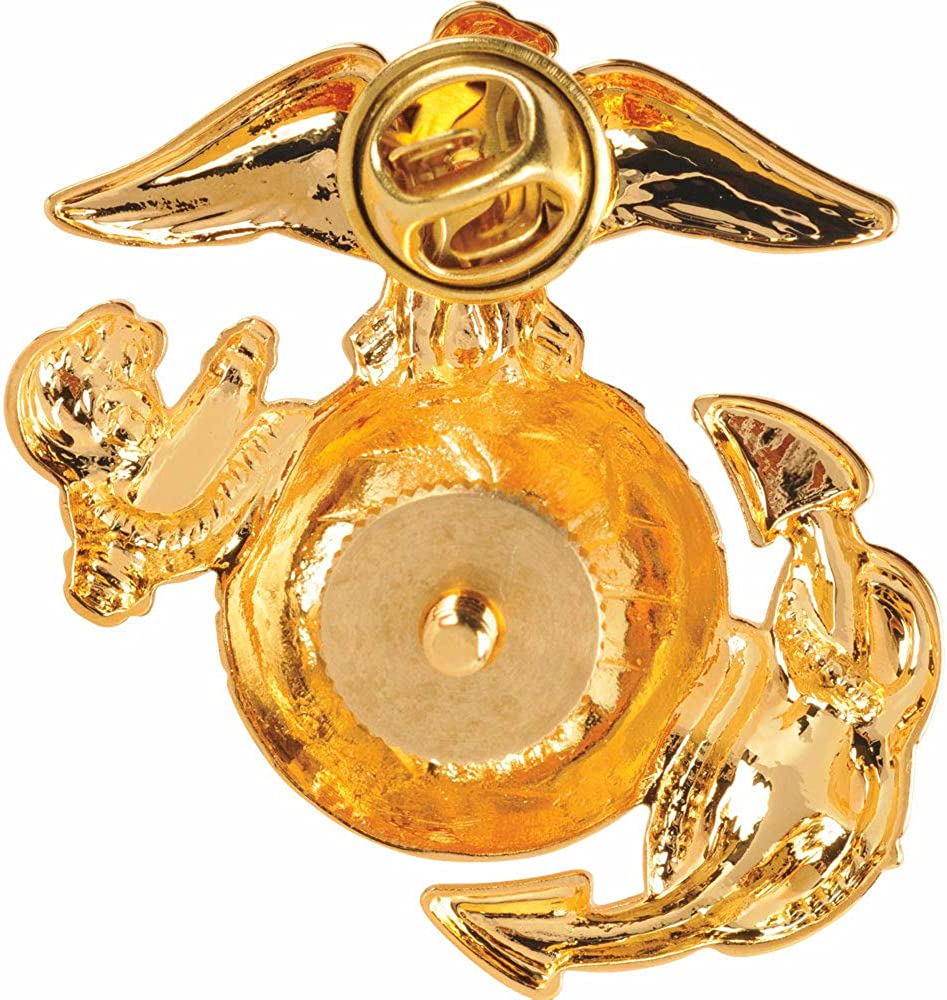 Marine Corps Globe and Anchor Cap Device Enlisted Brass