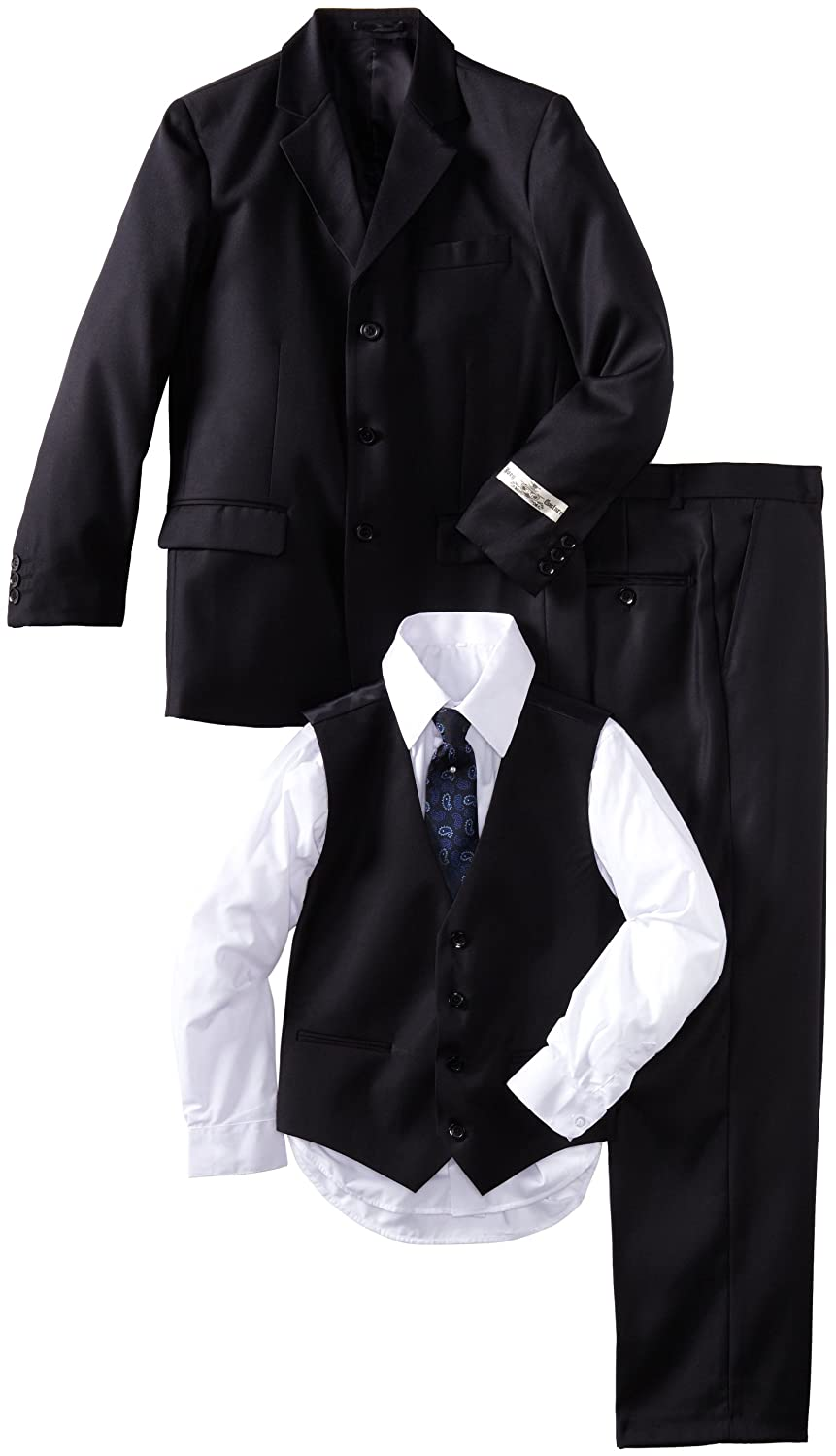 Joey Couture Big Boys Solid Suit Navy Blue 14 Joey Couture Boys 8-20 SD0405B