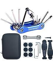 COZYROOMY Kit Reparación Herramientas Bicicleta,10 en 1 Herramienta multifunción (con Separador Cadena)