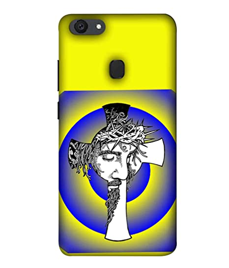 more photos 34263 6a078 Printfidaa Oppo F5 Back Cover Lord Jesus Christ with: Amazon.in ...