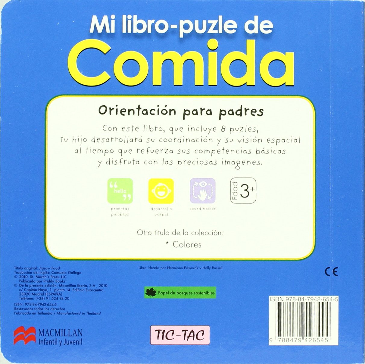 Mi libro-puzle de comida (Spanish Edition): Priddy Books: 9788479426545: Amazon.com: Books