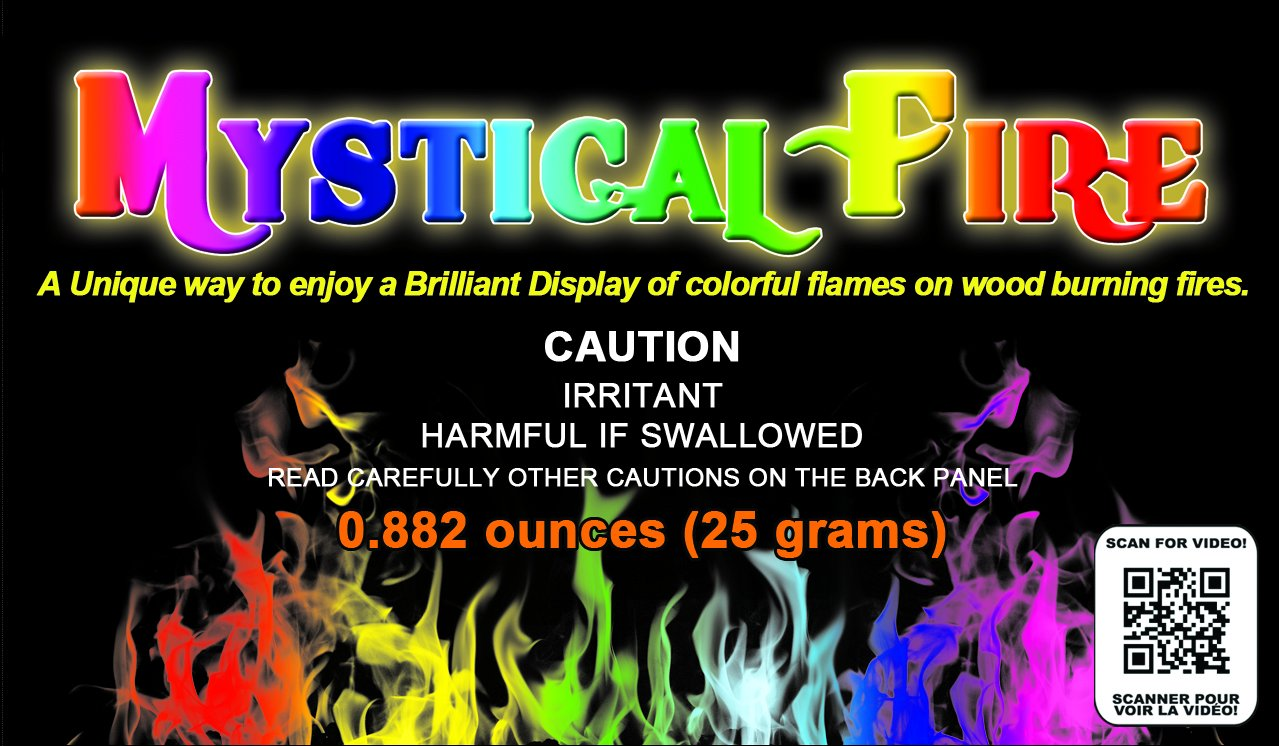 amazon com mystical fire flame colorant vibrant long lasting