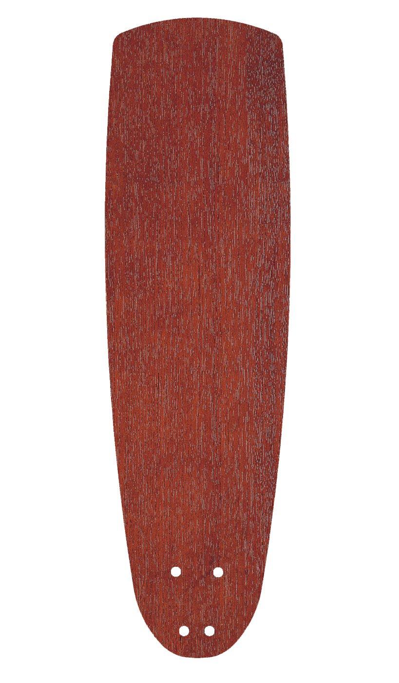 Mahogany Emerson Ceiling Fans G54TK 22-inch Accessory Ceiling Fan Blades, Teak, Indoor, Set of 5 Blades