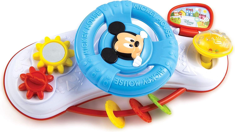Disney Baby Activity Volante de Actividades, Baby Mickey, Multicolor, única (Clementoni 17213)