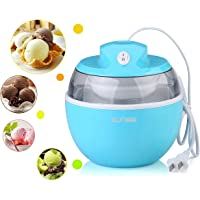 Sunsir Mini 0.6 L Automatic Ice Cream maker, Electric Soft Serve & Frozen Fruits Sorbet Dessert Machine for Kids - Own Healthy Ingredients