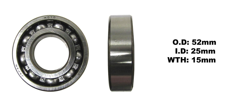 Yamaha YBR 125 (EFI) (UK) 2007-2014 Crank Bearing - Right (Each) My Moto Parts