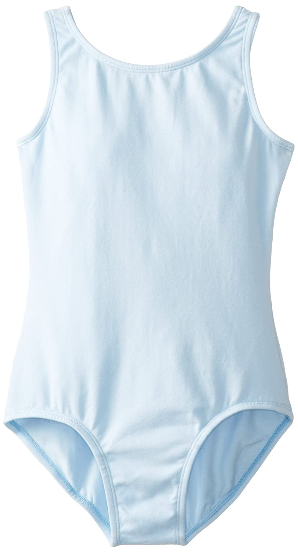 Big Girl's Leotard Ballet Cut Tank One Piece Camisole Bodysuit Dancewear Costume Clementine MG115