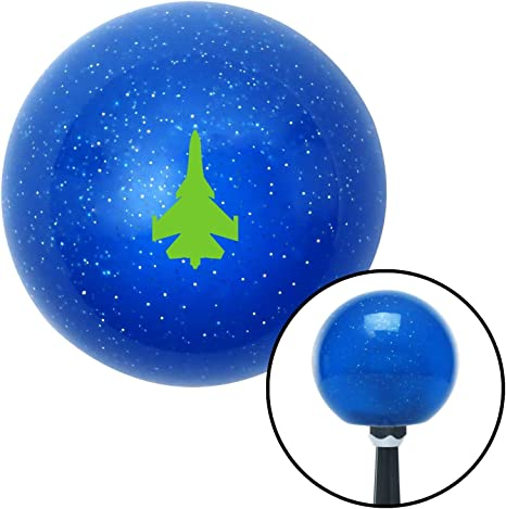 Blue Forever Alone Red Metal Flake with M16 x 1.5 Insert American Shifter 282209 Shift Knob