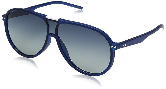 aaafb8286d38 Polaroid Sunglasses Pld6025s Aviator Sunglasses Blue Gradient Polarized, 99  mm