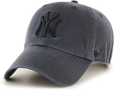 Gorra Curva New York Yankees 47 Charcoal: Amazon.es: Ropa y ...