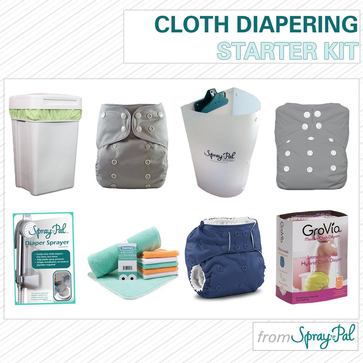 Spray Pal's Cloth Diapering Starter Kit