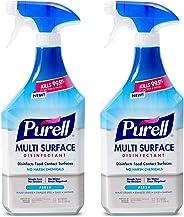 PURELL Multi-Surface Disinfectant Spray, Fresh Fragrance, 28 fl oz Trigger Spray Bottle (Pack of 2) - 2845-02-ECCAL