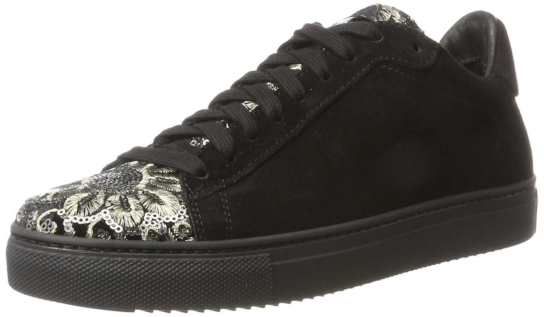 Stokton Sneaker, Zapatillas Para Mujer 39 EU|Negro (Nero/Piombo)