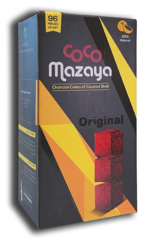Coco Mazaya 96 Piece Large Size Coconut Charcoal