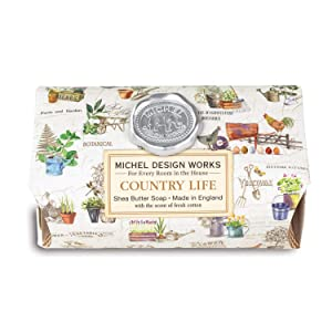 Michel Design Works Large Bath Soap Bar - Country Life