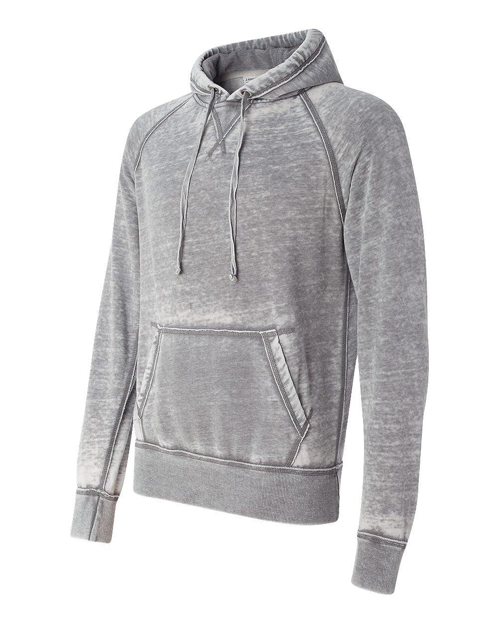 J JA8915 America Vintage Zen Fleece Pullover Hood