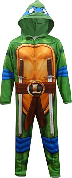 Briefly Stated Mens Teenage Mutant Ninja Turtle Leonardo One Piece Pajama