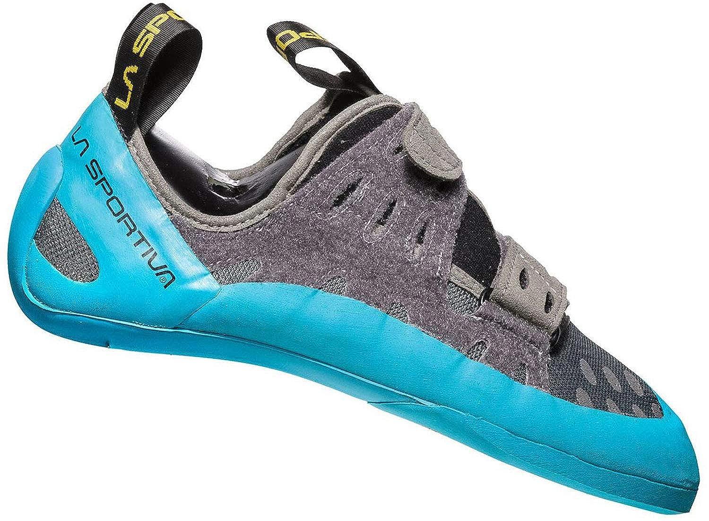La Sportiva Unisex-Erwachsene Geckogym Carbon Tropic Blau Kletterschuhe
