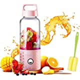 Portable Juice Blenders for Smoothie USB Rechargeable Mini Juicer Machines Extractor Household Fruit Mixer Small Cup…