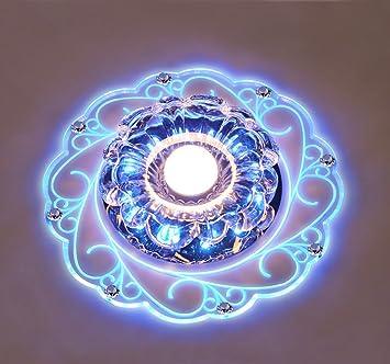 Plafonnier Cristal LED Cristal Lampe De Plafond Plafonnier LED Lampe