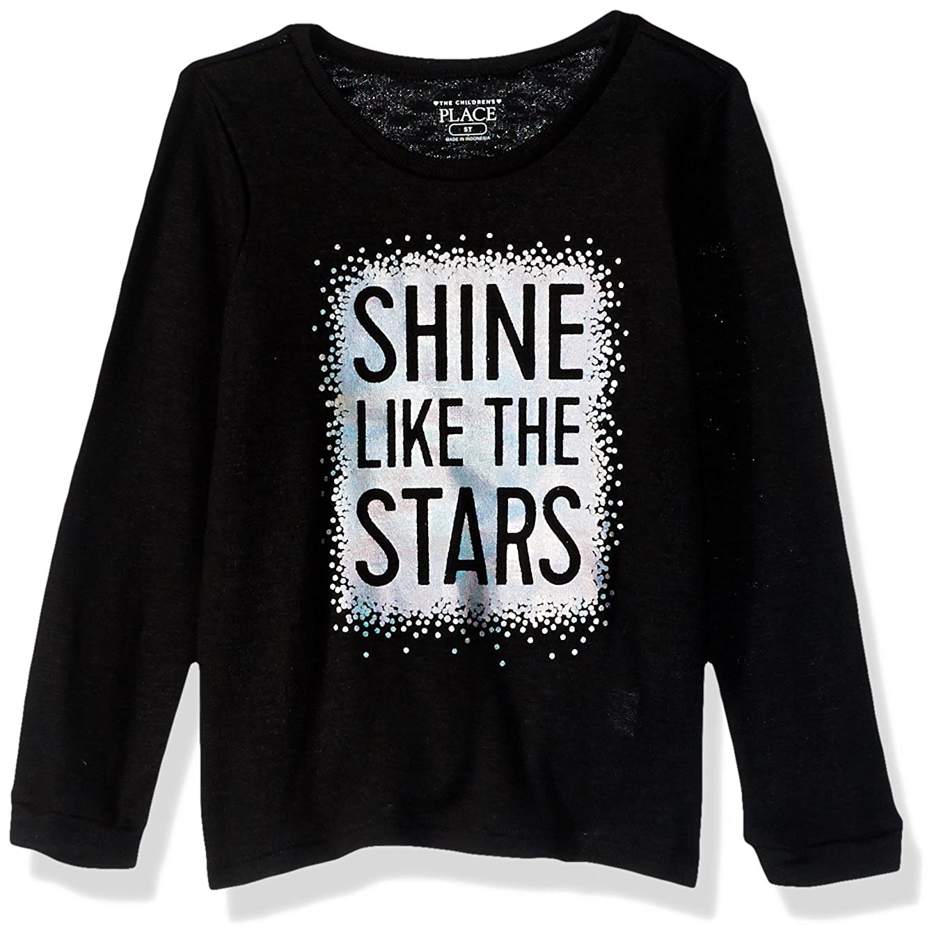 The Children's Place Baby Girls' Long Sleeve Graphic Top 2082527