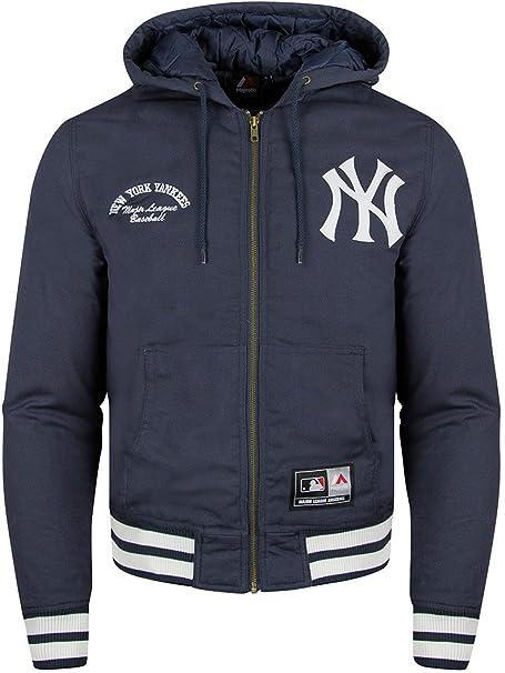 Cazadora Majestic: Deering New York Yankees BL