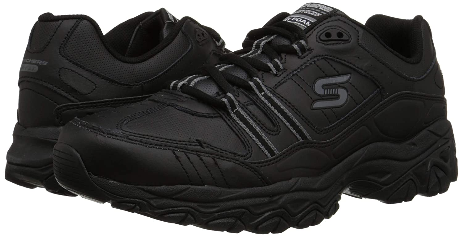 Details about Skechers Men's After Burn Memory Foam Afterburn Strike Off Fashion Sneakers