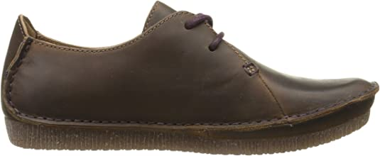 : Clarks Janey Mae Oxford Zapato para mujer: Shoes