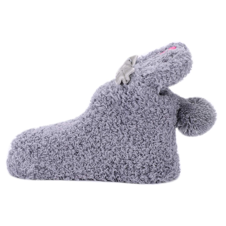 Baby Cartoon Rabbit Floor Sock Boys Girls Winter Warm Socks Toddler Infant Thick Non-Slip Shoes for Newborn 1-3 Y