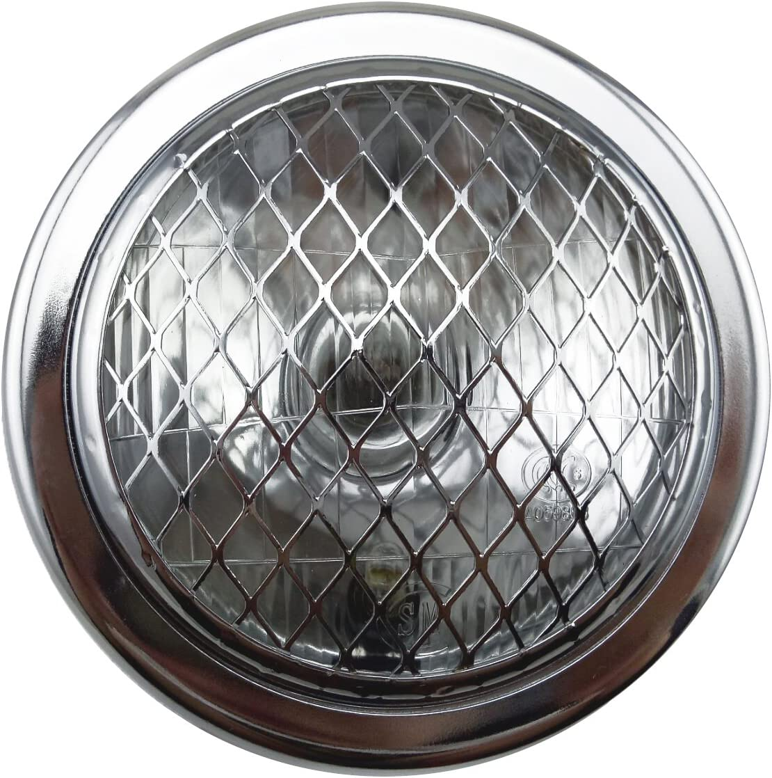 """6.5/"""" Retro Chrome Motorcycle LED Headlight Hi//Lo W//Bracket Fit Harley Cafe Racer"""