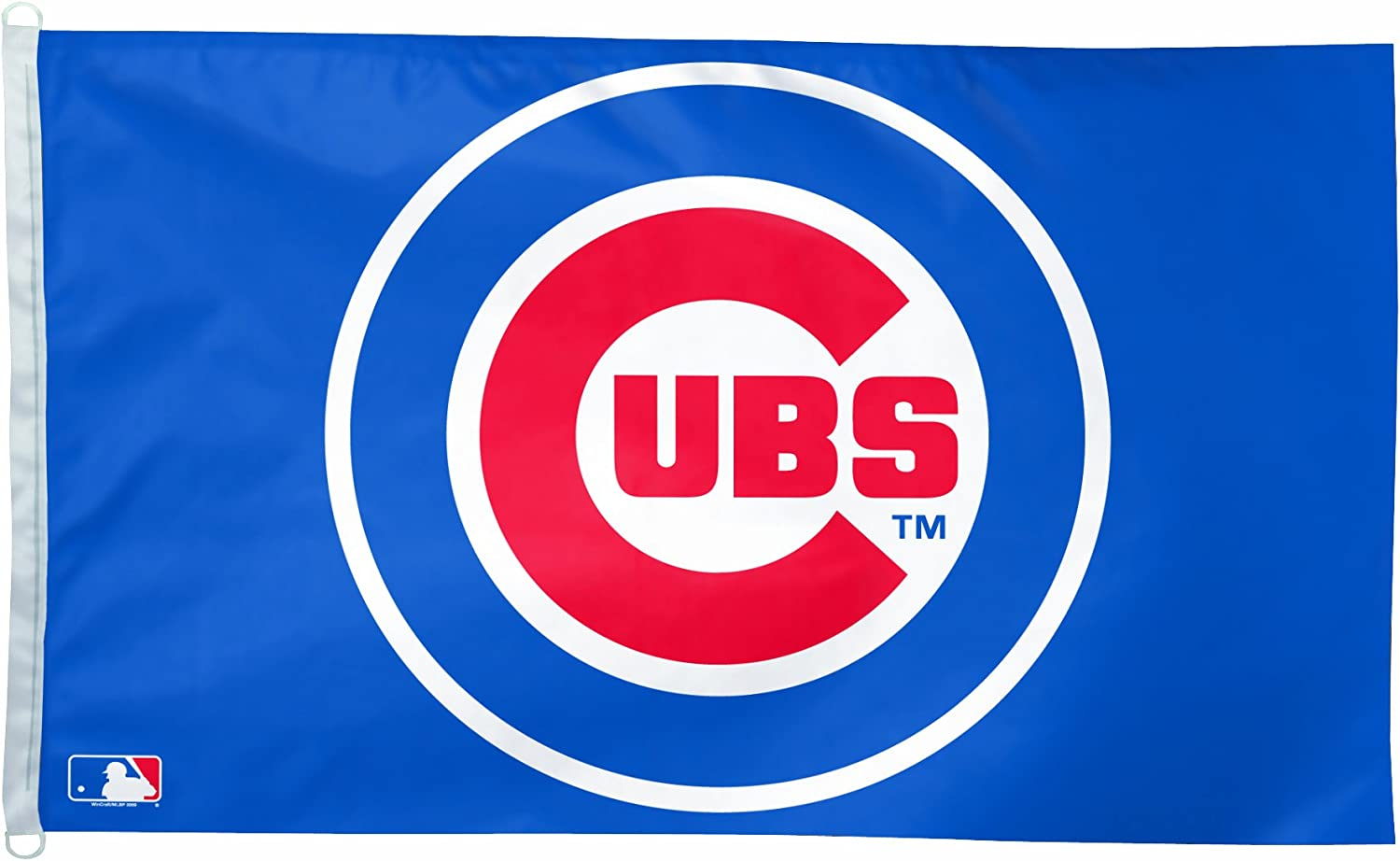Amazon Com Mlb Chicago Cubs 3 By 5 Foot Team Logo Flag Sports Fan Outdoor Flags Sports Outdoors